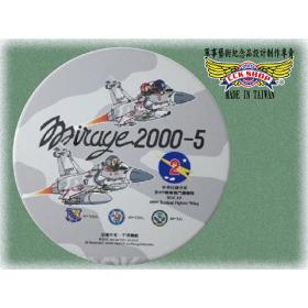 【鐵鳥迷飛機系列】空軍第2聯隊Mirage 2000-5幻象陶瓷吸水杯墊